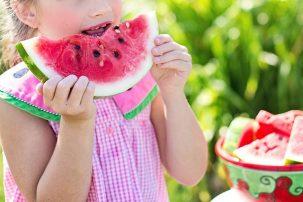 Watermelon ,Girl,Free Photo, Lemon