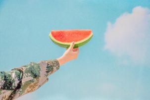 Watermelons ,Sky, Free Photo