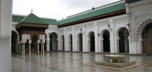 جامع القرويين ، صورة ، مدينة فاس ، لمغرب