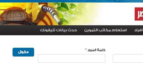 دعم مصر , اضافة المواليد , موقع دعم مصر , وزارة التموين , اضافه مواليد