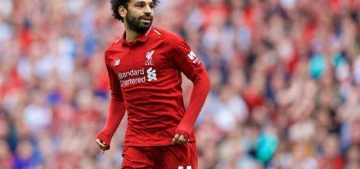 ليفربول وبرايتون , Liverpool, Salah