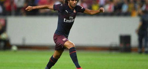 اللاعب المصري , محمد النني , أرسنال الإنجليزي