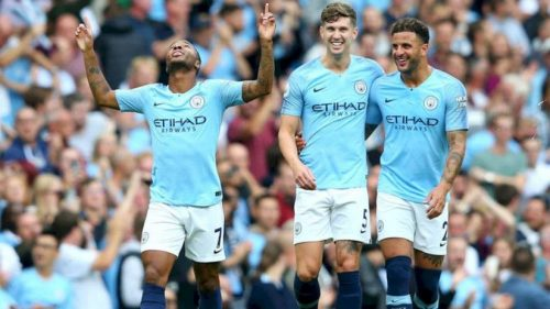 الدوري الإنجليزي ، Manchester City ، مانشستر سيتي وفولهام