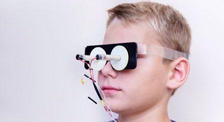 علاج, حَوَل الطفل, eye diseases , صورة
